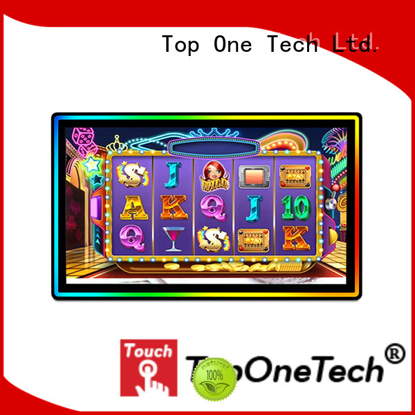 Toponetech stable performance 3m touch screen monitor one-stop services for education