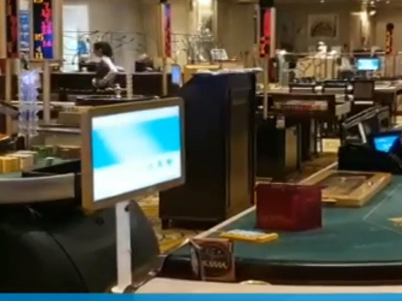 15.6 inch Open Frame Touch Monitor was applied to the Baccarat --Toponetech