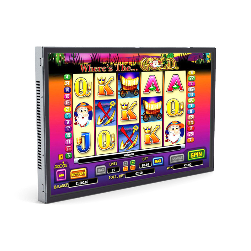 22 inch LED open frame touchscreen monitor(PCAP multi-touch and zero-bezel type)