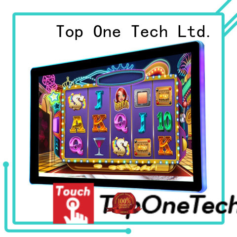 Toponetech high performance gaming display one-stop services for education