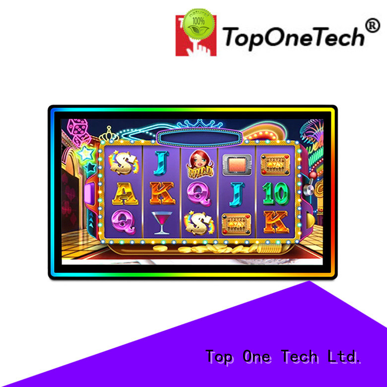 Toponetech china manufacturing capacitive touchscreen monitor manufacturer for gaming room