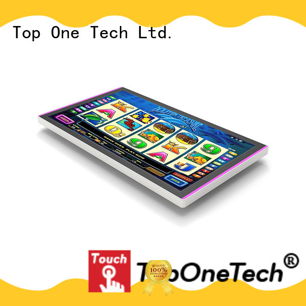 Toponetech open-frame touchscreen manufacturer for gaming room