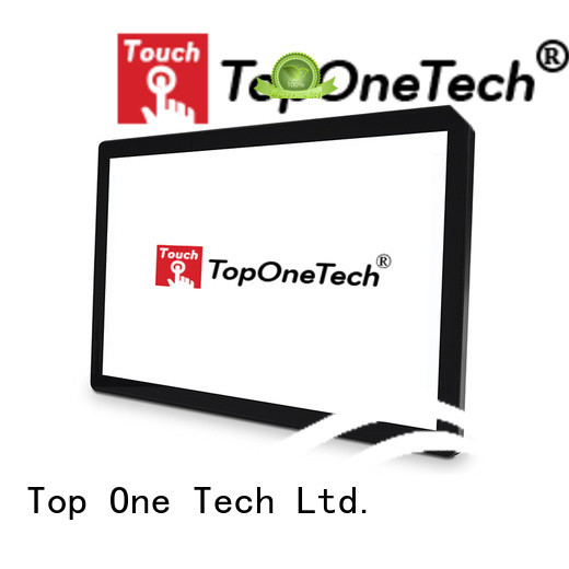Toponetech waterproof monitor with sunlight readable for self-service terminal