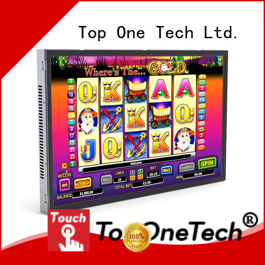 Toponetech touchscreen open frame with good reputation for ATM machine