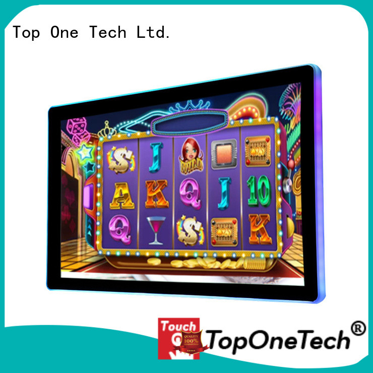 Toponetech trustworthy commercial touch screen wholesale price for self-service terminal
