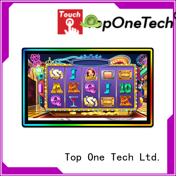 Toponetech excellent quality microtouch 3m touch screen monitor top brand for school