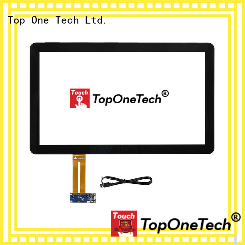 Toponetech custom capacitive touch screen awarded supplier for gaming