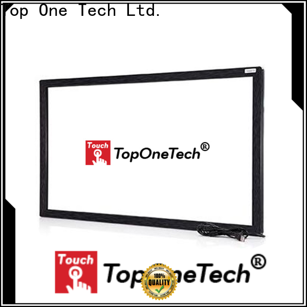 Toponetech better performance ir multi touch monitor factory for self-service terminal