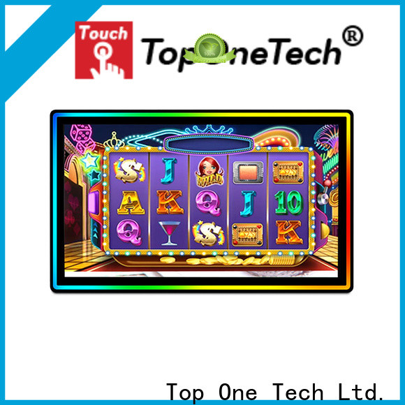 Toponetech bar led touch screen monitor one-stop services for gaming display