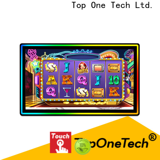 Toponetech wholesale led touch screen monitor supply for shopping mall
