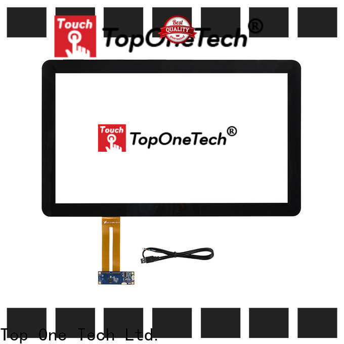 Toponetech panel 8 inch capacitive touch screen manufacturers for industrial touch display applications