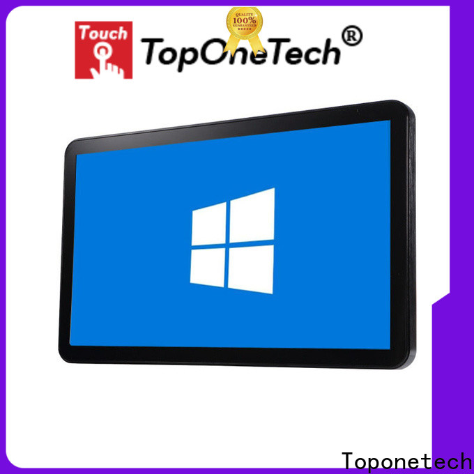 Toponetech inch 21.5 inch touch screen suppliers for gaming display