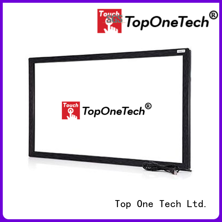 Toponetech ir touch screen widely use for shopping mall
