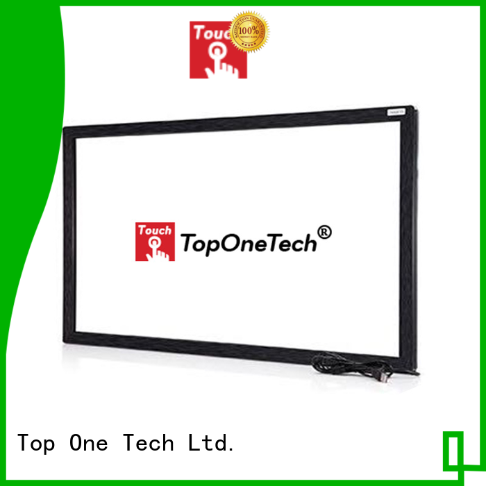 Toponetech ir touch screen frame directly sale for school