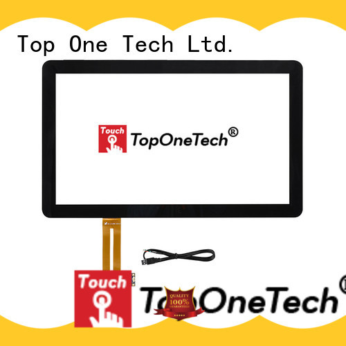 Toponetech capacitive touch screen monitor for industrial touch display applications