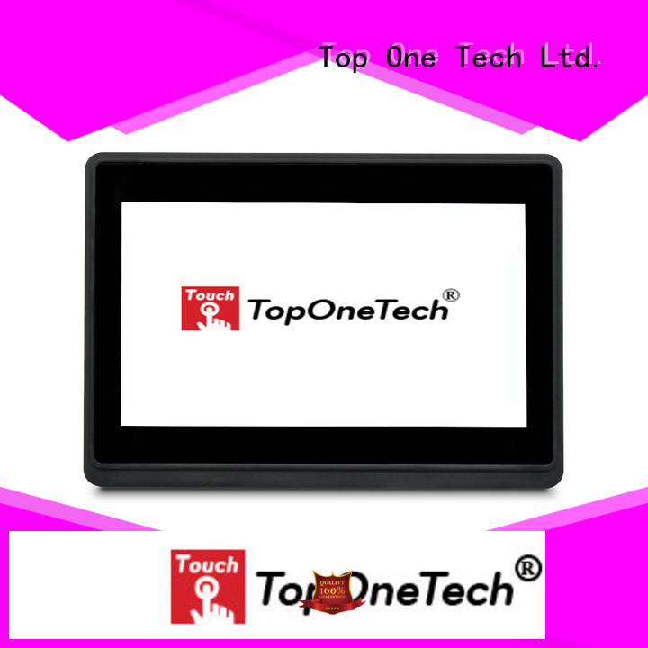 Toponetech custom open frame touch monitors bulk purchase for workshop