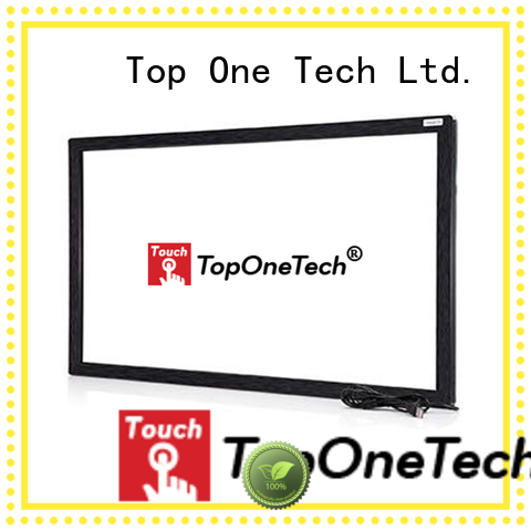 Toponetech excellent quality ir touch frame with good reputation for education