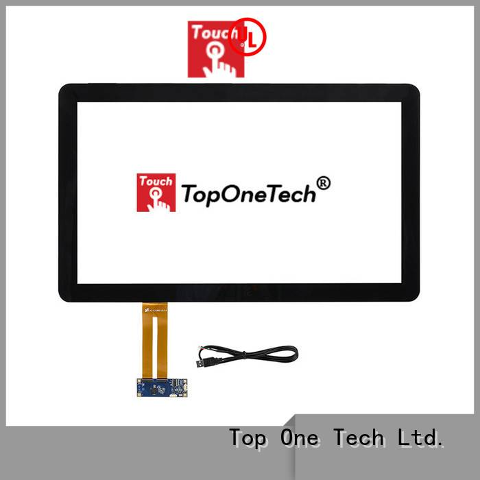 Toponetech China touch screen monitor supplier capacitive touch monitor for industrial touch display