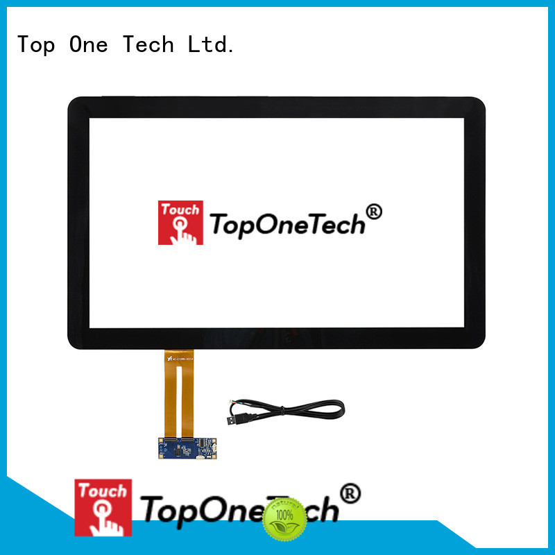 Toponetech industrial touch screen monitor with custom size for gaming