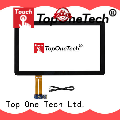 Toponetech customized capacitive touch screen manufacturers with custom size for vending machine