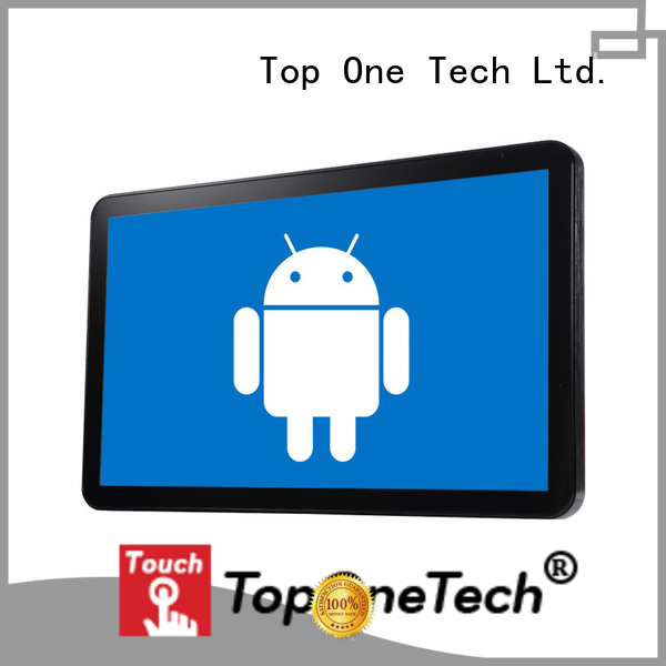 Toponetech wide usage all in one touch screen computer with low price for shopping mall