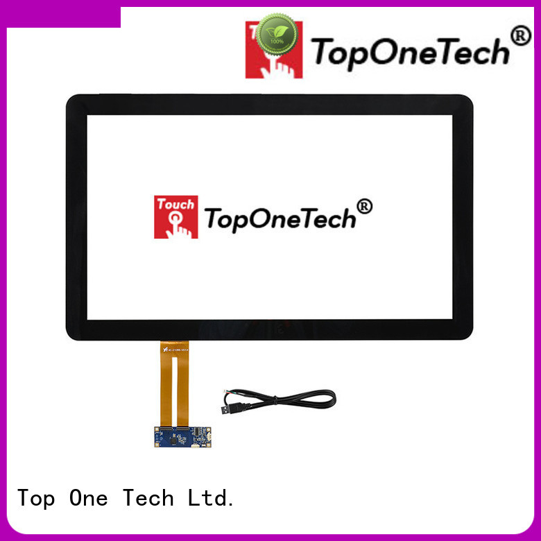 Toponetech resistive touch screen with custom size for gaming
