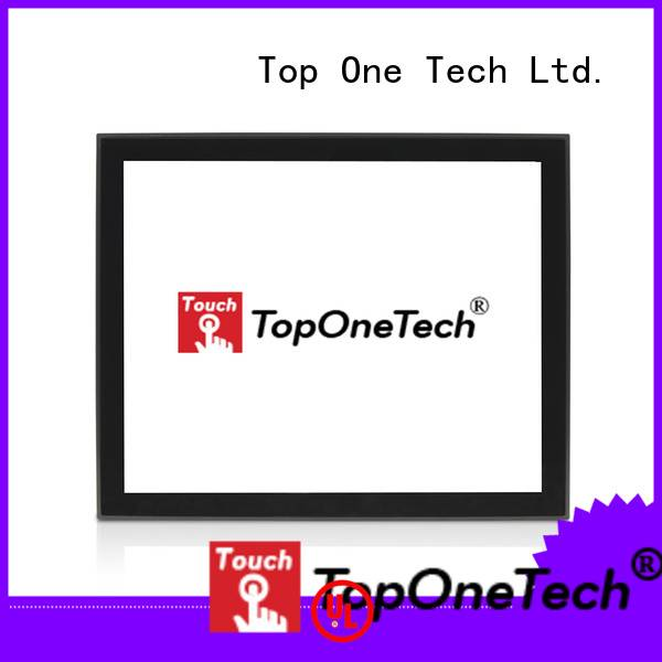 Toponetech touch screen kiosk monitor supplier for industrial
