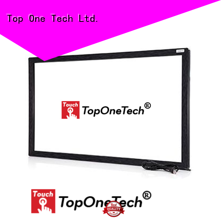 Toponetech lcd touch screen open frame directly sale for shopping mall