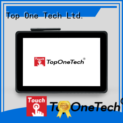 Toponetech high performance all in one desktop touch screen with cheapest price for vending machine