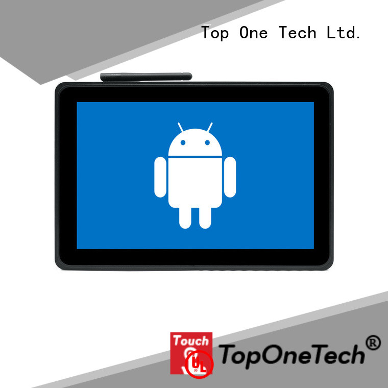 Toponetech wide usage touch panel pc with low price for shopping mall