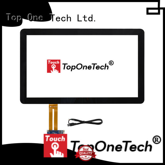Toponetech hot sale pcap touch screen with custom size