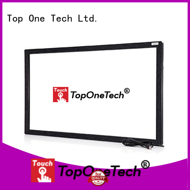 Toponetech better performance ir touch overlay for-sale for shopping mall