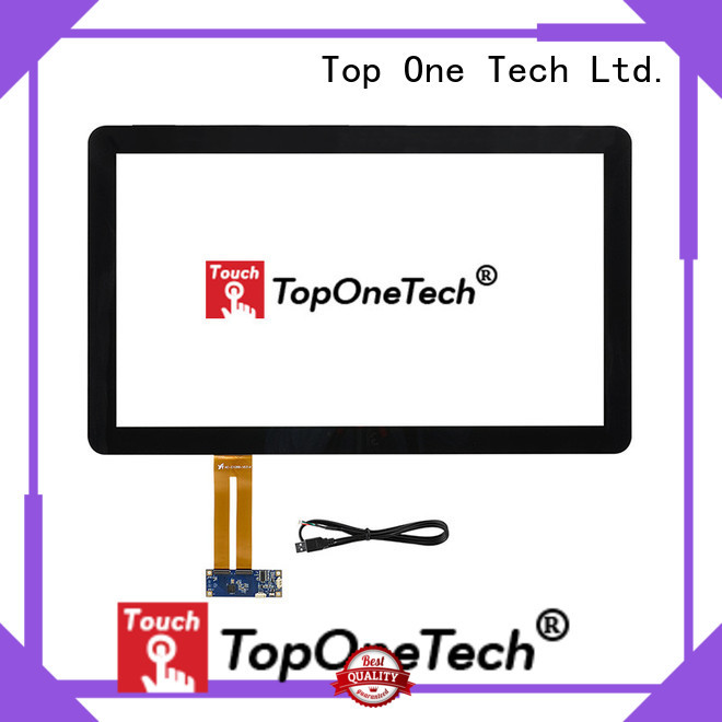 Toponetech efficient capacitive touch screen suppliers awarded supplier for industrial touch display applications