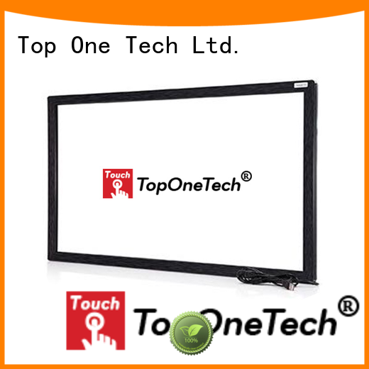 Toponetech multi touch screen manufacturers widely use for self-service terminal