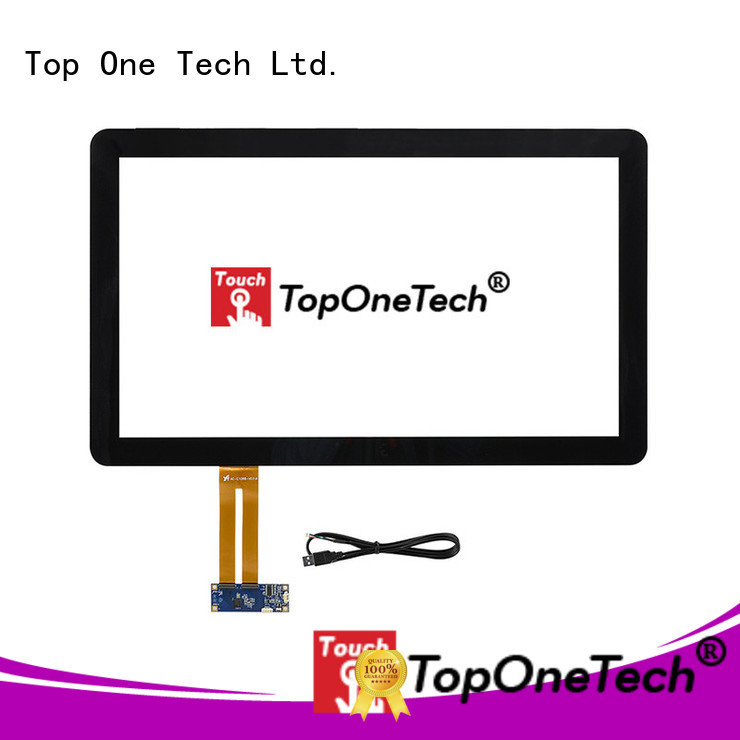 Toponetech touch screen suppliers with custom size for vending machine