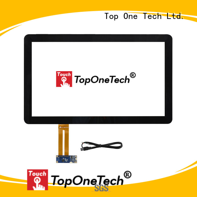 Toponetech panel touch screen monitor China supplier for vending machine