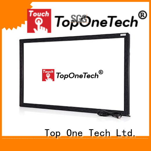 better performance multi touch screen frame factory for gaming display
