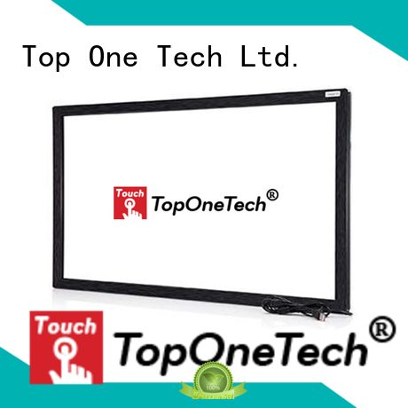 Toponetech touch display manufacturer widely use for vending machine